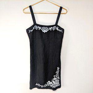 Yves Cossette Depeche Mode Embroidered Dress 4